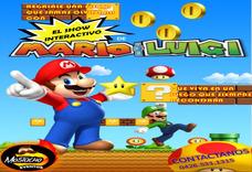 Show Mario Bros, Minecraft, Vengadores, Héroes, Recreadores