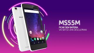 Celular Multilaser Android 7.0 Tela 5.5