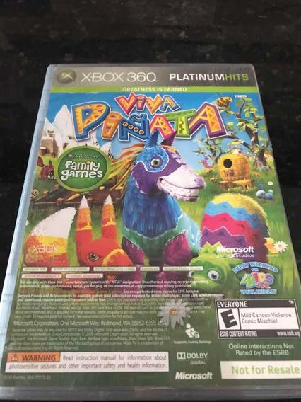 Jogo Xbox 360 2 Em 1 Banjo Kazooie E Viva Pinata Original