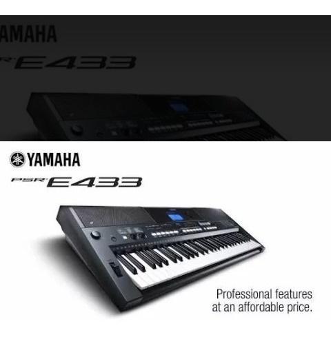 Ritmos Yamaha Psr E433