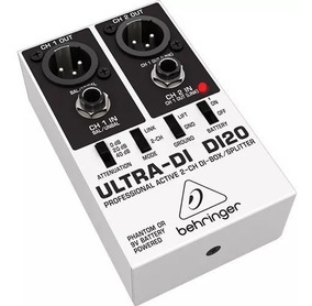 Ultra Direct Box Di20 Ativo 2 Canais Behringer 100% Original