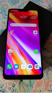 Smartphone Lg G7 Thinq 64gb Preto. Concorrente Do Galaxy S9