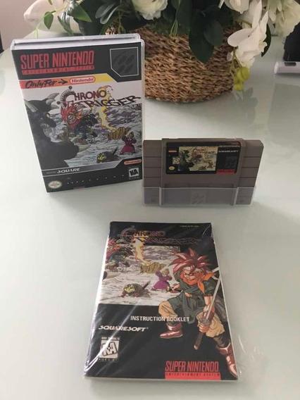 Chrono Trigger - Super Nintendo - Original - Com Manual