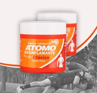 Atomo Desinflamante Clásico Pote X 110 Gr