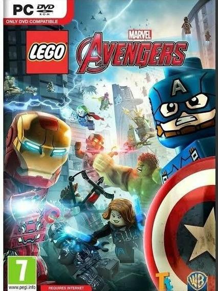 Lego Marvel Avengers Ptbr Pc Steam Cd-key Código Envio Já