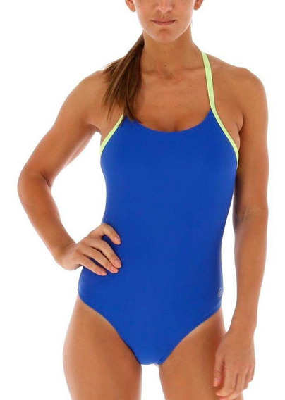 Traje De Bano Swimsuit Gita Azul Body & Soul