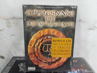 Whitesnake Live In The Still Of The Night - Dvd + Cd Box Usa