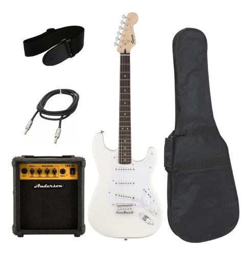 Imagen 1 de 4 de Combo Guitarra Squier By Fender Bullet + Amplificador 10w