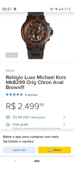 Relógio Michael Kors Mk8299