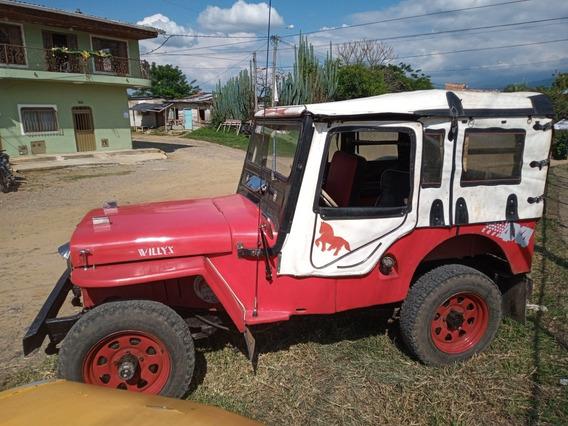 Jeep Cj-2a Pochirilo