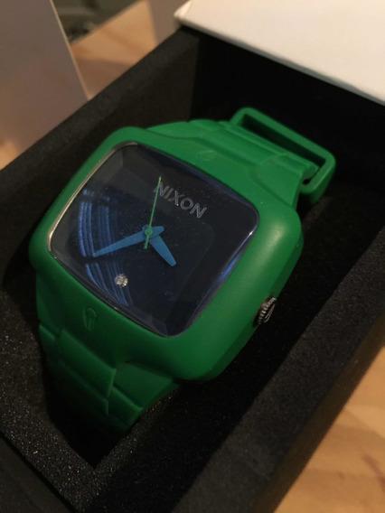 Relógio Nixon Rubber Player Green/navy