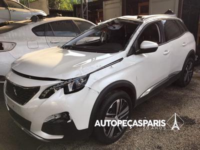 Sucata Novo Peugeot 3008 Griffe 2018 - Peças Peugeot 3008
