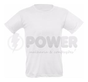 Lote Com 10 Camisas Xgg Para Sublimação Brancas