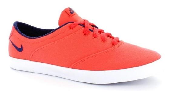 Tenis Nike Mini Sneaker Lace Naranja Morado 724747-851