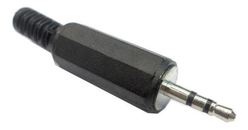 Conector Ficha Miniplug 2.5mm El Más Chico Estereo P Armar
