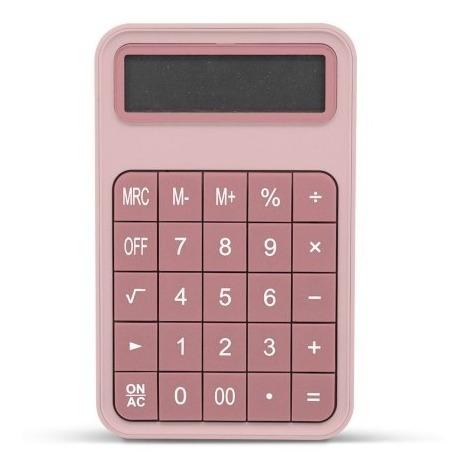 Calculadora Con Teclado Personalizable 12 Digitos Solar Pila