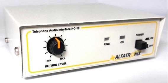 Interface Chave Hibrida Telefônica Com Retorno Alfatronix