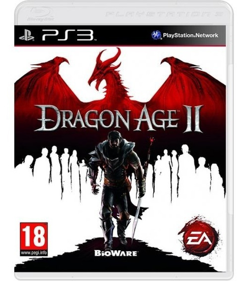Dragon Age Ii 2 - Mídia Física / Ps3