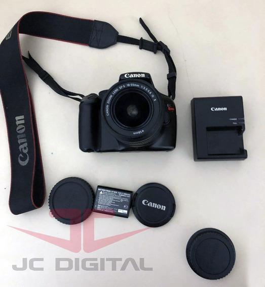 Câmera Canon Eos Rebel T3 Eos 1100d + Lente 18-55mm