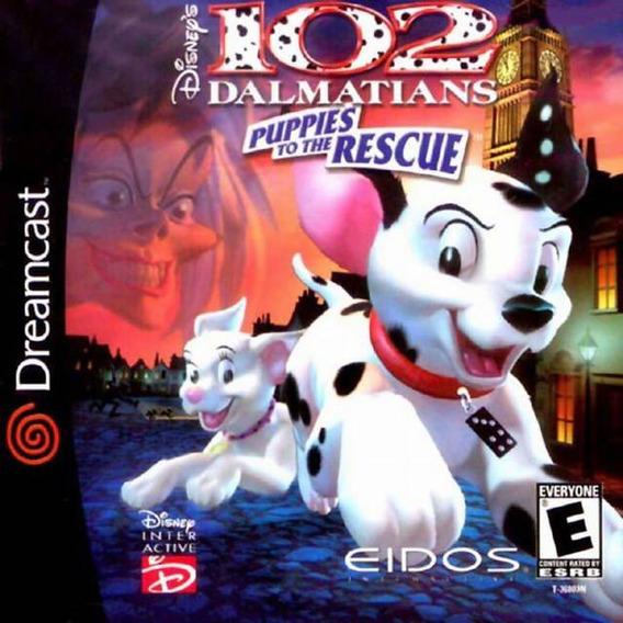 102 Dalmatians Puppies The Rescue Patch - Dreamcast E Pc