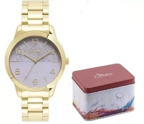 Relógio Condor Kit Feminino Co2035kwc/k4g Original E Barato
