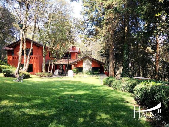 Casa De Revista En El Bosque De Tlalpuente.