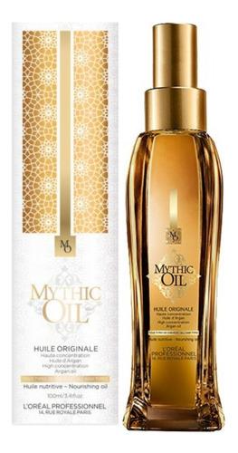 Aceite De Argán Con Protección Térmica Loreal Mythic Oil