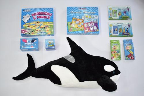 Imagen 1 de 1 de Juegos De Mesa En Familia + Super Orca Mundo Marino