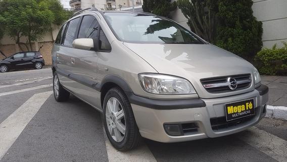 Chevrolet Zafira Elegance 2.0 Flex 5p 7l 2005 Bege Completo