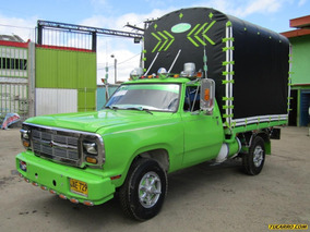 Camion Estacas Dodge D100