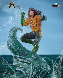 Iron Studios Aquaman Battle Diorama Series