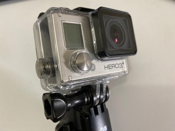Câmera Gopro Hero 3+ Com Acessórios + Kit Chest (orignais)
