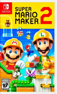 Super Mario Maker 2 Nintendo Switch Fisico