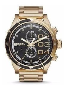 Relógio Diesel Dz4337 Gold Dourado - Novo Original Importado