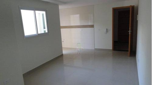 Imagem 1 de 9 de Apartamento Com 2 Dormitórios À Venda, 49 M² Por R$ 283.000,00 - Vila Curuçá - Santo André/sp - Ap1460