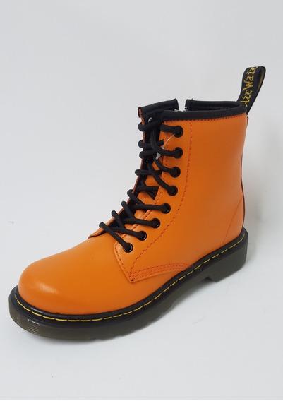 Borcego Dr Martens Naranja Kids