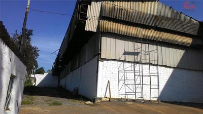 Galpão Comercial Para Venda E Locação, Batistini, São Bernardo Do Campo - Ga1412. - Ga1412