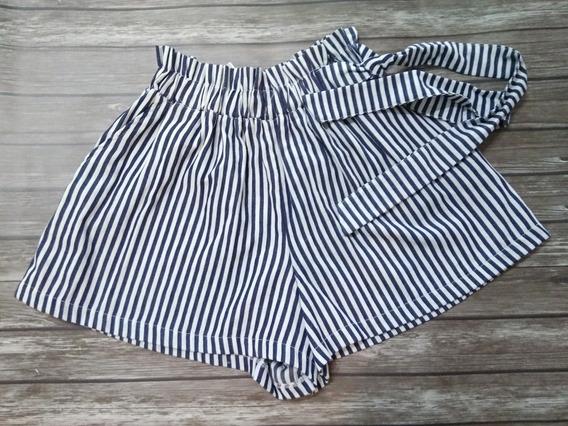 Short Pantalon Mujer Con Lazo