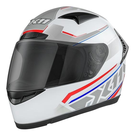 Capacete De Moto Fechado X11 Volt Dash Motociclista A Vista
