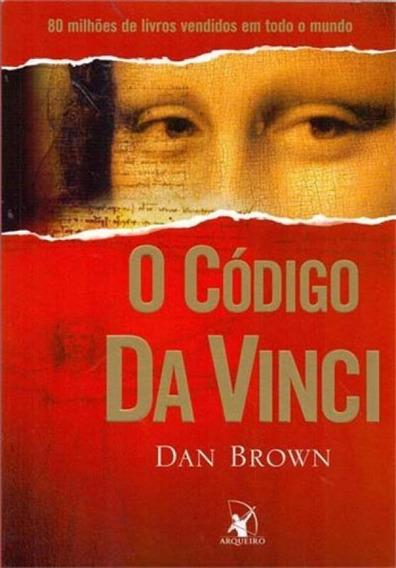 Livro - O Código Da Vinci - Novo Lacrado
