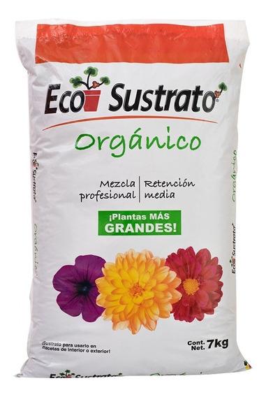 Eco Sustrato Orgánico Para Plantas, Flores Y Hortalizas