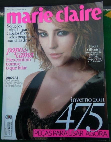 Revista Marie Claire Nº 240 Paola Oliveira - Março 2011