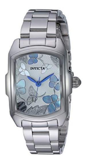 Relógio Invicta Feminino Lupah 23218 Pulseira Inox Original