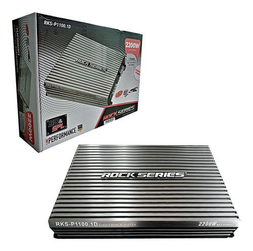 Imagen 1 de 6 de Amplificador Rock Series Rks-p1100.1d 2200w Max 1c Clase D