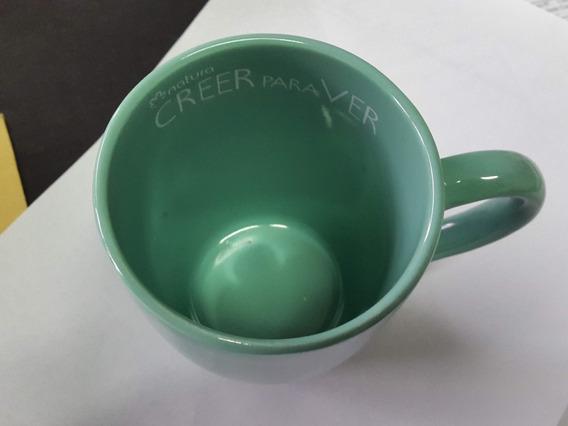 Taza De Cerámica Verde O Lima - Natura Cosméticos