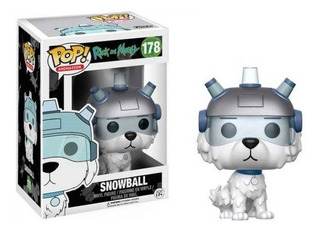 Funko Pop Snowball 178 Rick And Morty Baloo Toys