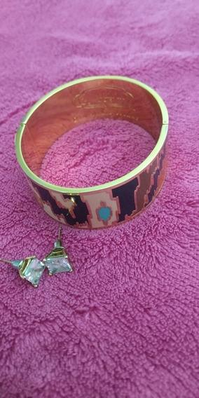 Bracelete Spartina 449 Daufuskie Island + Brinquinho Banhado