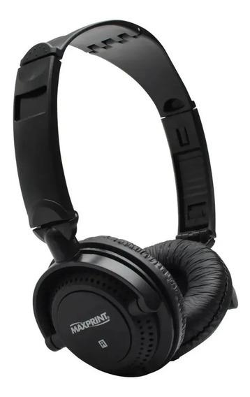Headset Profissional Maxprint Com Haste Dobrável 60362-1