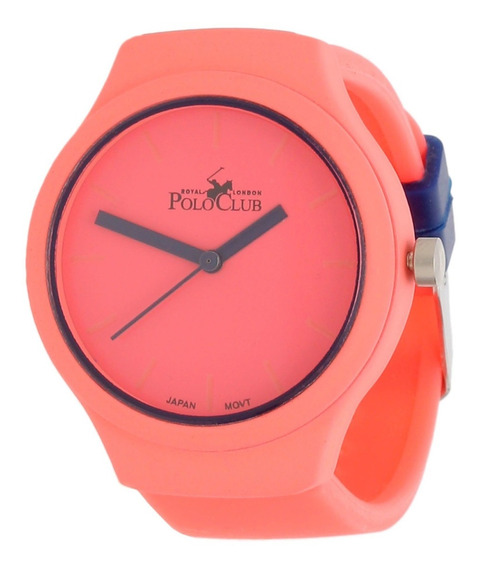 Reloj Dama Mano Polo Club Mujer Rosa Rlpc2932c