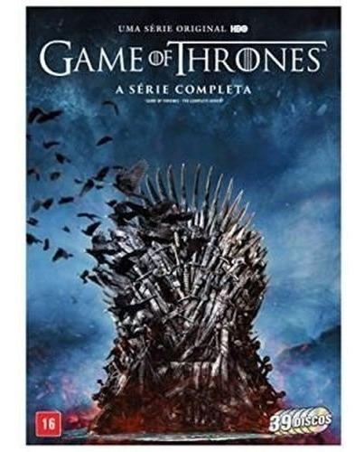 Imagem 1 de 1 de Dvd Box - Game Of Thrones -  A Série Completa